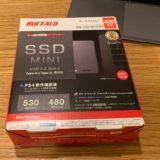 PS4 用に 外付けSSD PGM480U3-B(バッファロー)を購入!超快適なのでPS4ユーザーは購入を検討すべき!
