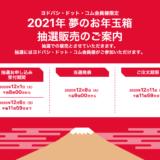 ヨドバシカメラ 2021年福袋 夢のお年玉箱 受付開始!2020年と比較して中身を予想致します。追記:12月6日最終の倍率を追加!